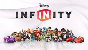 Wanted: WANTED! Disney infinity characters