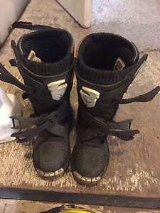 Youth dirt bike boots Thor Size 13