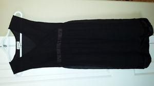 maternity dress black