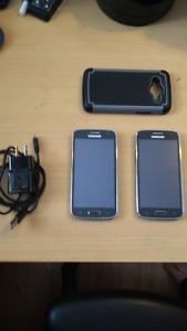 2 Samsung Galaxy Core's Unlocked