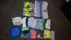 3 month boy summer lot