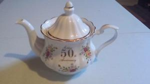 50th Anniversary Tea Pot