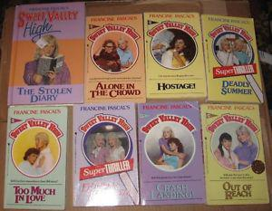 8 Sweet Valley High books $10 for the lot