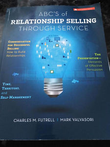 ABC's of Relationship Selling Through Service 6th Edition