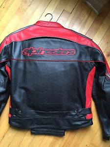 Alpine Stars Leather Jacket (Large)