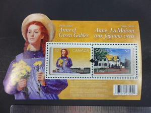 Anne of Green Gables Stamp Sheet