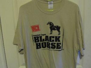 BLACK HORSE T SHIRT