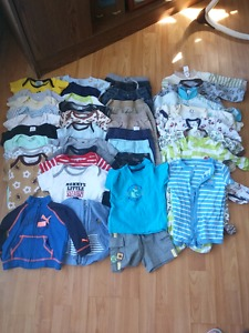 Baby boys spring clothing lot size 3-6months