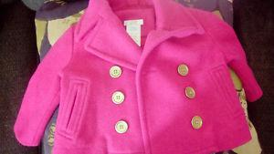 Baby girls spring dress coat.