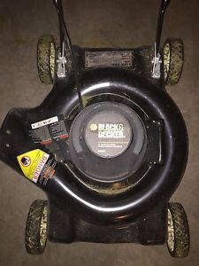 "Black and Decker 18"" Electric Mower"