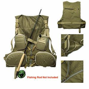 Brand New Fishing Vest - Green