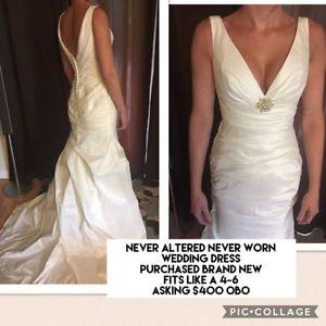 Brand New Never Altered Wedding Dress