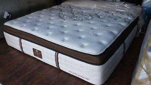 Brand new luxury king mattresses Stearns & Foster