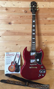Brand new sg pro epiphone with accessories for trade