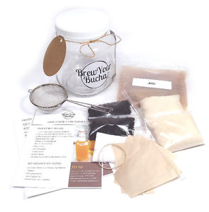 Brew Your Bucha - Kombucha Home Brewing Kits and Accessories