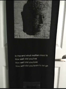 Buddha Tapestry Wall Hanging Quote