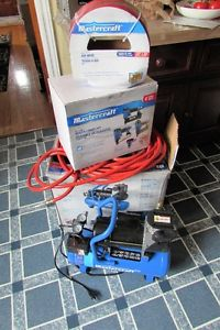 Craftsman 3 Gallon Compressor with 4 piece nailer combo kit