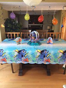 Dory theme birthday decorations