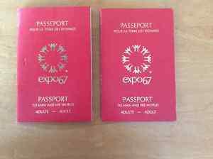 Expo  passports.