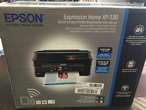 Expression home Xp-330 printer new in box never used