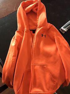FS Under Armour zip hoodie YXL