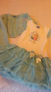 Girls Disney Frozen Dress with little jacket
