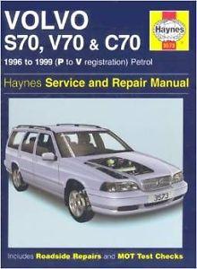 Haynes  Volvo S70 V70 C70 Auto Repair & Service
