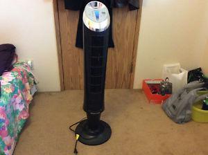 Honeywell quietset tower fan & Intertek table fan