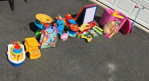 Huge lot of toys
