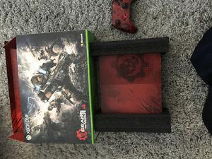 I am selling my limited edition gears of war Xbox