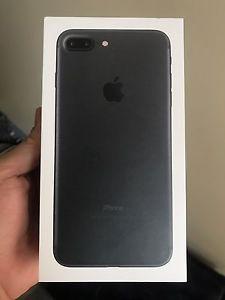 Iphone 7plus 256gb Matte Black