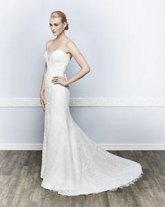 Kenneth Winston Designer wedding dress