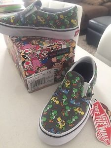 Kids Vans Slip-on shoes size 1 *new with tags