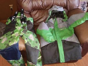 Monster Winter Jacket and Snow Pants Size 10