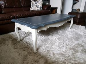 Newly beautified solid wood coffee table