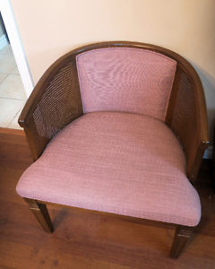 Pair Antique Solid Wood Chairs