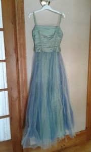 Prom Dress - Organza and Satin With Crinilon