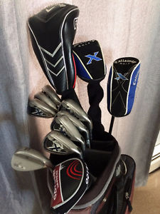 RH - Callaway and TaylorMade Golf set.
