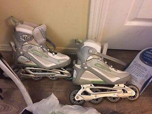 Roller blades pour femmes en excellente condition !!