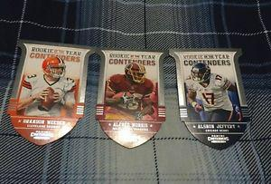 Rookie of the Year Contenders Die Cut Cards