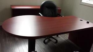 Solid Executive Desk
