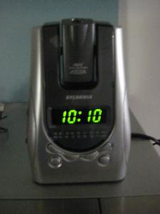 Sylvania SA LCD Alarm Clocks AM/FM Radio/Time