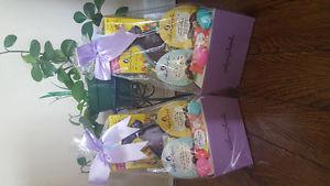 TWO Laura Secord Easter Gift Baskets