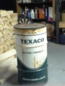 Vintage Steel Oil Can that needs a new home