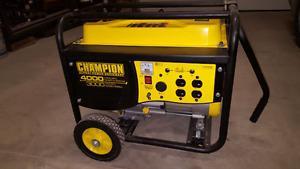 W Champion Generator- Brand New