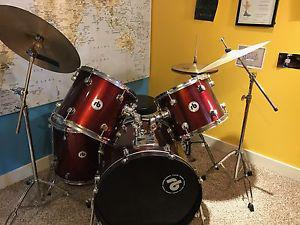Wanted: 7 piece RB drum kit with extra high hat