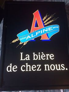 Wanted: Alpine light up sign