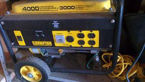 Wanted: Champion  watt generator.