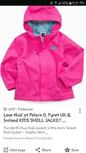 Wanted: Looking for girls size 9-24 month spring jacket