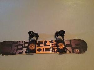 Wanted: Orange black gold and red snowboard